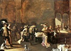 Jacob Duck, Soldiers inspecting coffers