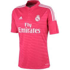 2014/15 Real Madrid C.F. Adidas Jersey Away (Pink)