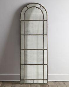 Arched Floor Mirror   Neiman Marcus
