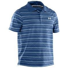 Under Armour® Embossed Stripe Polo #VonMaur