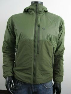 NWT Mens Mountain Hardwear Compressor Hoody Climbing Insulated Jacket Army Green | eBay Hooded Jacket, Bomber Jacket, Mens Dress Pants, Outdoor Wear, Mountain Hardwear, Green Jacket, Army Green, Climbing, Hoody