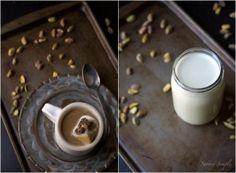 Pistachio Cardamom Hot Chocolate #vegan #dairyfree
