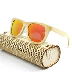 YZ Men Women Handmade Bamboo Legs Polarized Sunglasses Luxurious Colorful Eyewear Glasses