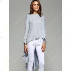 twinkledeals Cool Outfits, Casual Outfits, Fashion Outfits, Womens Fashion, Western Outfits, Western Wear, Classy Casual, Long Tops, I Love Fashion