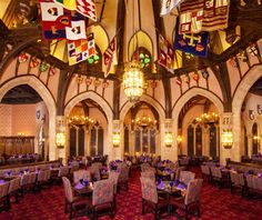 Best Disney Restaurants | Cinderella's Royal Table, Magic Kingdom
