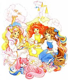 Does anyone other than me remember Lady Lovely Locks and the pixie tails?
