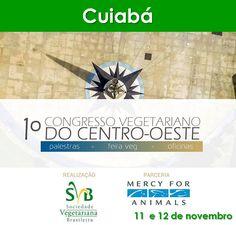 www.facebook.com/events/545475392320429 #eventosveganos #eventovegano #veganismo #vegana #vegano #vegetarianismo #vegetariana #vegetariano #vegan #govegan #cuiabá #cuiaba