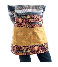 Custom Utility Apron with multiple pockets to keep needed items close and hands free. Cold Treatment, Weighted Blanket, Apron, Wonderland, Hands, Pockets, Cotton, Free, Fashion
