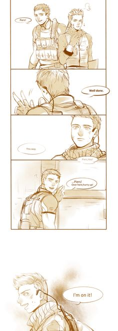 Chris and Piers by thefishboy on DeviantArt Tyrant Resident Evil, Resident Evil Anime, Fanart, Predator Alien, Jill Valentine, The Evil Within, Just A Game, King Of Fighters, Dark Souls