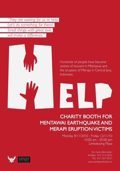 21 fundraising poster ideas