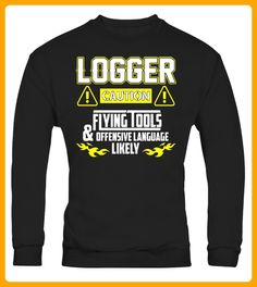 Logger Flying Tools Tee Funny Logger Shirt - Halloween shirts (*Partner-Link)