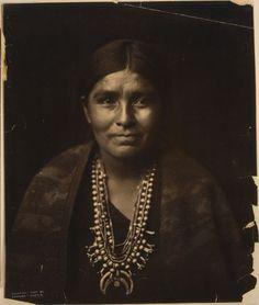 A Navajo Woman.1904.