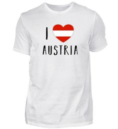 ÖSTERREICH, I LOVE AUSTRIA T-Shirt Mens Tops, Women, Fashion, Moda, Women's, La Mode, Fasion, Fashion Models, Trendy Fashion