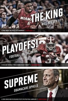 Banners AIO by Matthew Cook I love the way everything interacts it graphically screams PRIME TIME SPORTS even when it's not Sports Advertising, Sports Marketing, Web Design, Web Banner Design, Web Banners, Sport Inspiration, Graphic Design Inspiration, Sports Graphic Design, Sport Design