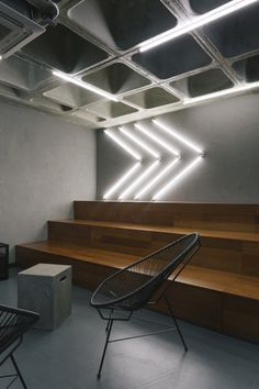 Gabriel, Interior Architecture, Interior Design, Linear Lighting, Office Lighting, Environmental Design, Photos, Pictures, Stairs