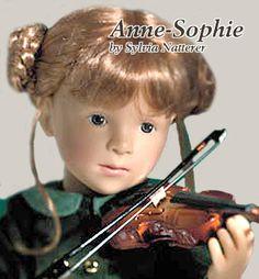 Anne-Sophie, by Sylvia Natterer