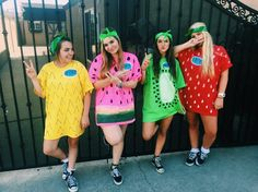 fruit costumes #diy