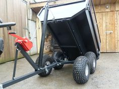 TARKA 700 ATV Off-road Tipping Trailer
