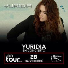 #Yuridia en Monterrey #ONTOURmx