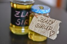 Když mám chuť......: .... uvařím domácí Zlatý sirup Golden Syrup, Barware, Food And Drink, Homemade, Drinks, Cooking, Blog, Recipes, Syrup