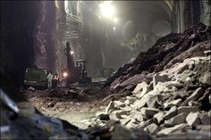 Inside NYC's huge underground construction project