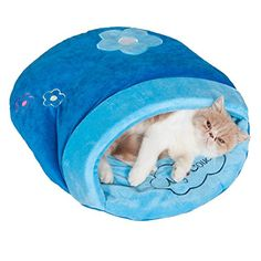 Pet Cave Pet Sleeping Bag For Cat /Small Dogs Rabbits Pet Bedding