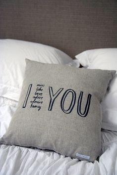 Karin Akesson I Adore You Cushion ($50-100) - Svpply