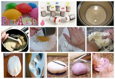 Pasta Americana-branca//foto pronta c/a colorida Ingredientes para 10 porções da Pasta americana:  1 kg de Açúcar impalpável-  2 Colheres de sopa de Glucose de Milho ou Amêndoa-  2 Colheres de sopa de Margarina-   2 Pacotes de de 24 gr de Gelatina incolor-  6 Colheres de sopa de Água-  1 Colher de chá de essência de Amêndoa ou baunilha branca-