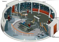 Lost Polaris Bridge-Revised by on DeviantArt Star Trek Tv Series, Star Trek Tos, Star Citizen, Science Fiction Theater, Vaisseau Star Trek, Star Trek Bridge, Star Trek Models, Star Trek Uniforms, Star Trek Cosplay