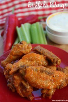 No Fry Buffalo Wings Recipe on Yummly