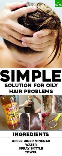 Oily hair is a condition that is very common with people and it can be very unpleasant. Everybody wants to deal with it, the cure is simple– ACV.