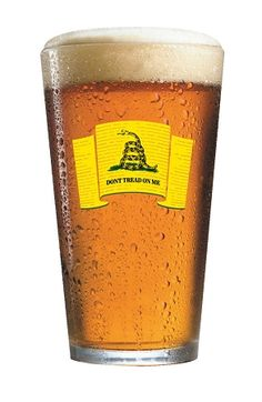 Don't Tread On Me Pint Glass, $5.99