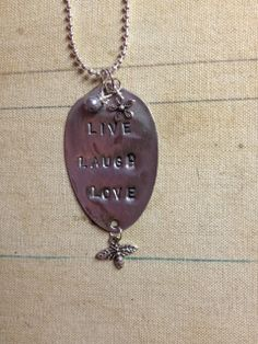 Vintage Spoon Necklace JUNK SISTER  Free by TrueNorthInteriorDes, $25.00