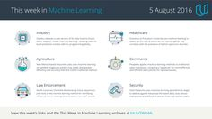 This Week in #MachineLearning, August 5, 2016 https://medium.com/udacity/this-week-in-machine-learning-5-august-2016-aeac470763db
