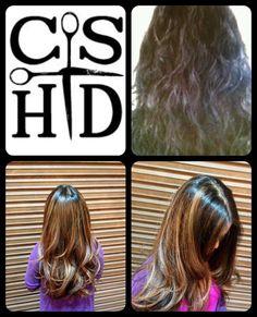 Flamboyage... Hair by Christina Sanchez Hair Design http://www.christinasanchezhairdesign.com @Davines  #davines #hairbrained