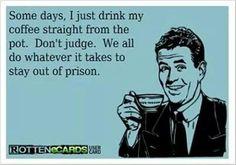 Avoid prison.