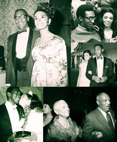 Classic Black Love..Bill & Camille Cosby through the years