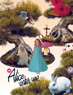 Arte Alice Wake up! - Artista Karina Matulevicius (kM.)