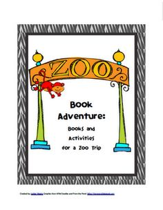 Free zoo printable pack with lots of great book suggestions from Ready. Set. Read!