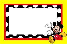 Ideas y material gratis para fiestas y celebraciones Oh My Fiesta!: Imprimibles de Mickey Mouse 7.