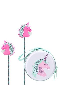 Glitter Unicorn Earbuds