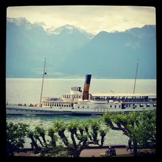 Room with a view. Vevey. Suisse.