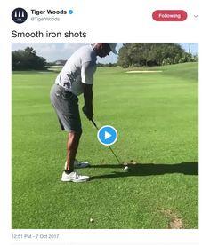 Tiger Woods teases again, posts slow-motion video of himself hitting a shot - Golf Digest Tiger Woods, Slow Motion Golf Swing, Golf Pga, Golf Club Sets, Golf Clubs, Golf Practice, Woods Golf, Golf Videos, Golf Instruction