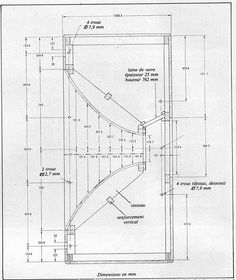Wooden Speaker Cabinets Plans DIY blueprints Speaker