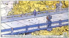 Dan O'Bannon (writer), Moebius (artist) The Long Tomorrow In Metal Hurlant Vol. 1 Published by Les Humanoïdes Associés Spanish edition Random Panel Moebius Artist, Moebius Comics, Dan O Bannon, Superflat, Jean Giraud, Ligne Claire, Sendai, Blade Runner, French Artists