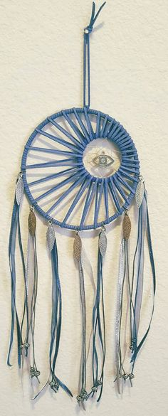 Dreamcatcher dream catcher blue dreamcatcher blue by RiehlArt