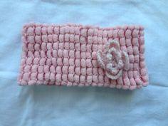 Headband/Headscarf  in Powder Pink by Yellowcrochet on Etsy, $12.00