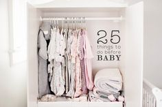 25 THINGS TO DO BEFORE BABY