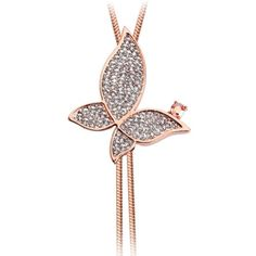 Rose Gold Plated Butterfly Long Necklaces Tassel with Pendants for Women Austrian Crystal.More info for pretty necklaces;simple necklaces for girlfriend;pretty necklaces for women;trendy necklaces;handmade beaded necklaces could be found at the image url.(This is an Amazon affiliate link and I receive a commission for the sales)