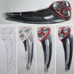 Electric Razor Sketch & Design www.skeren.co.kr #productdesign #productsketch #productideasketch #ideasketch #markersketch #markertechnique #markerrendering #marker #razor #electricshaver #electricrazor #아이디어스케치 #제품스케치 #전기면도기스케치